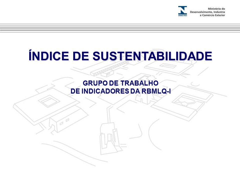 ÍNDICE DE SUSTENTABILIDADE DE INDICADORES DA RBMLQ-I