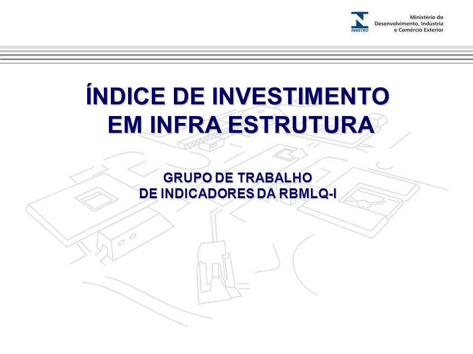 ÍNDICE DE INVESTIMENTO DE INDICADORES DA RBMLQ-I