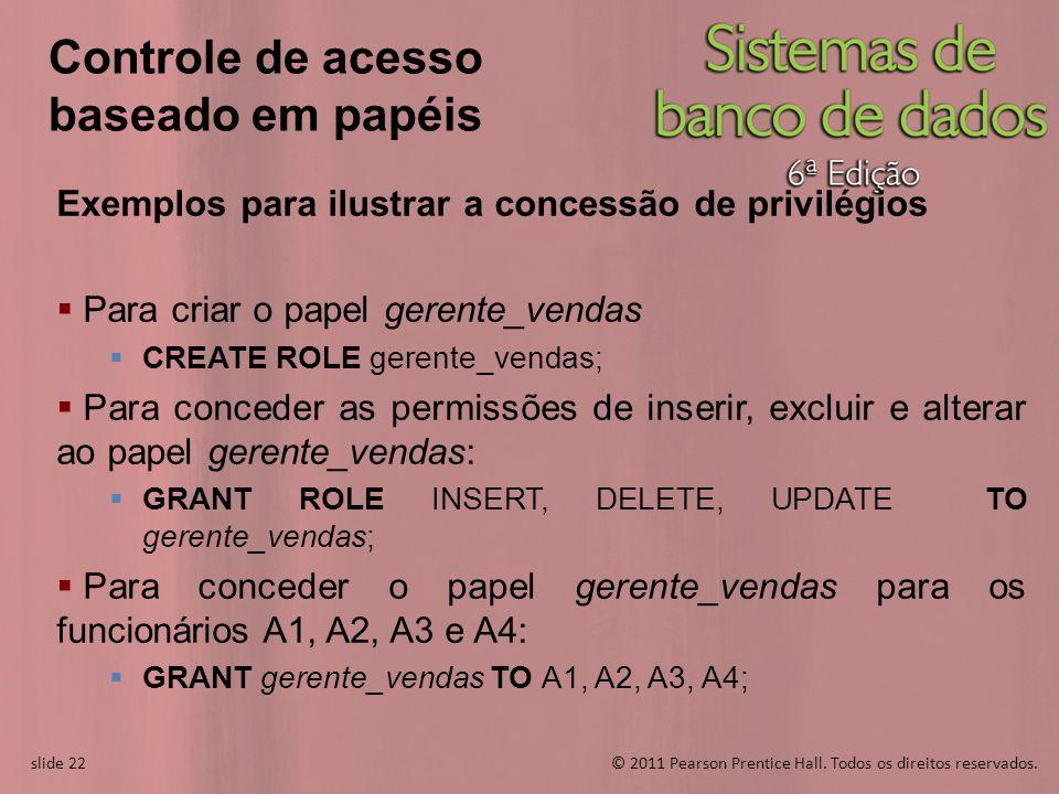 Controle de acesso baseado em papéis