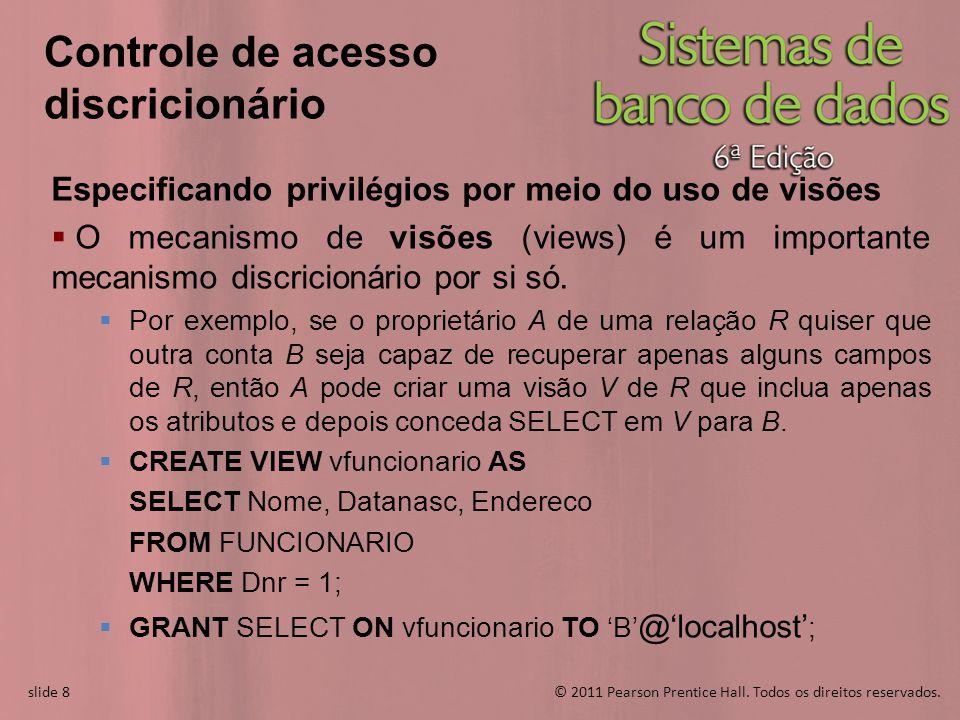 Controle de acesso discricionário