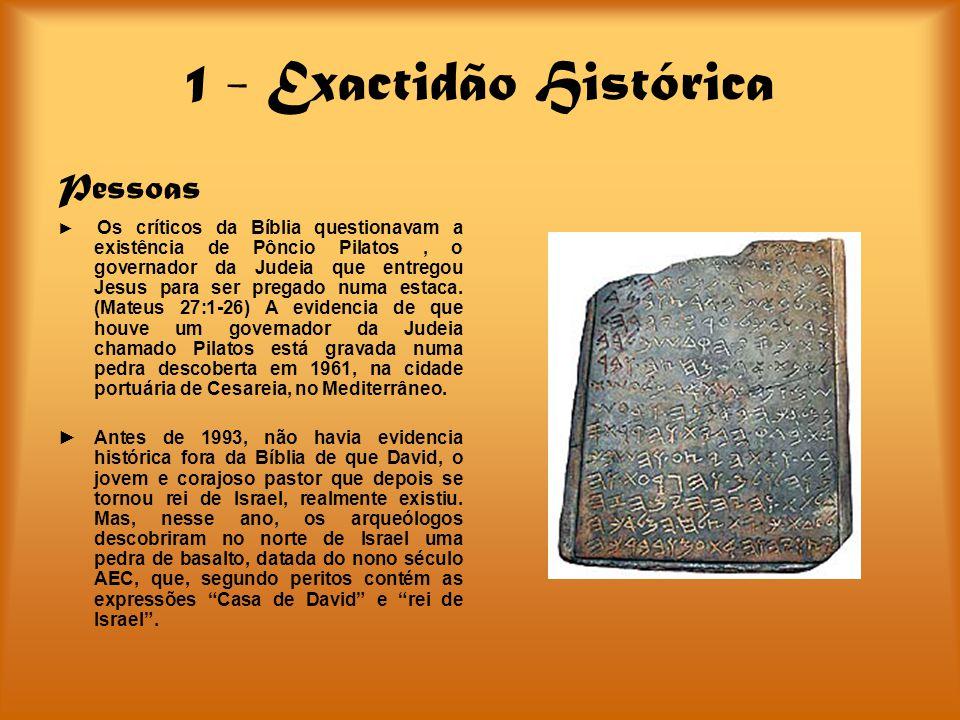 1 - Exactidão Histórica Pessoas