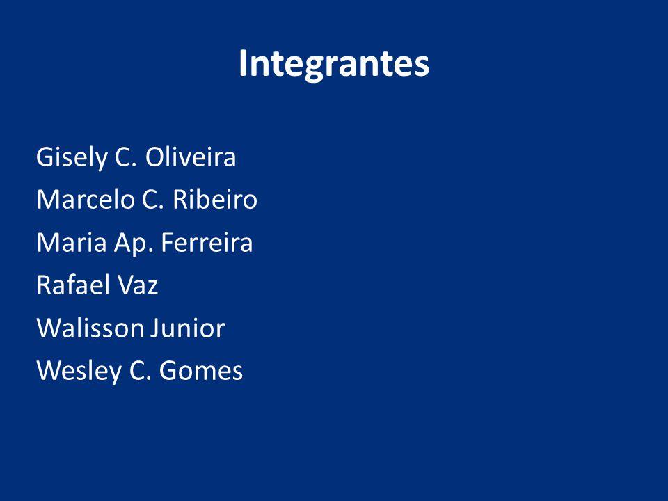 Integrantes Gisely C. Oliveira Marcelo C. Ribeiro Maria Ap.