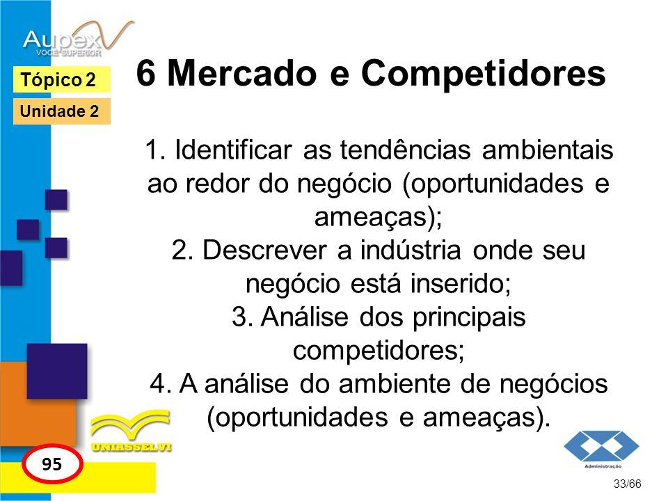 6 Mercado e Competidores
