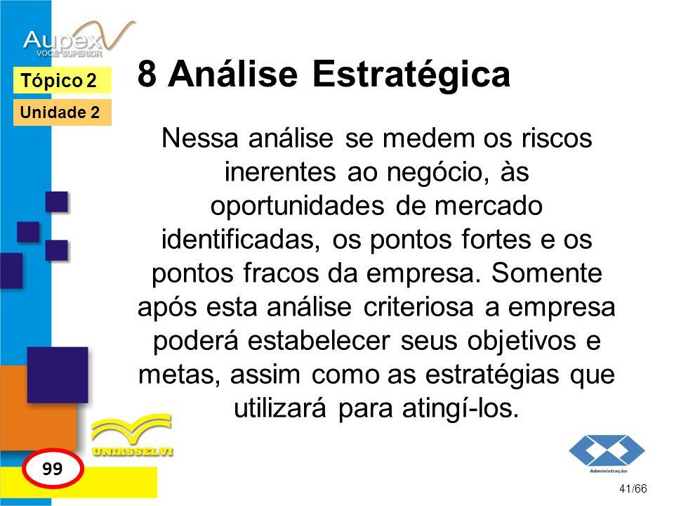 8 Análise Estratégica Tópico 2. Unidade 2.