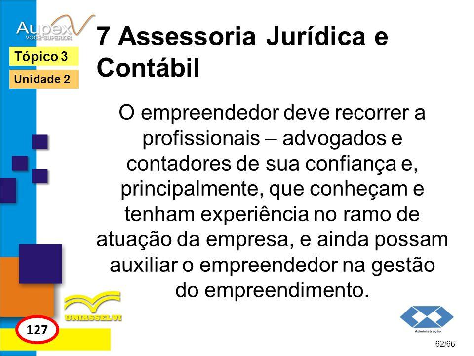 7 Assessoria Jurídica e Contábil