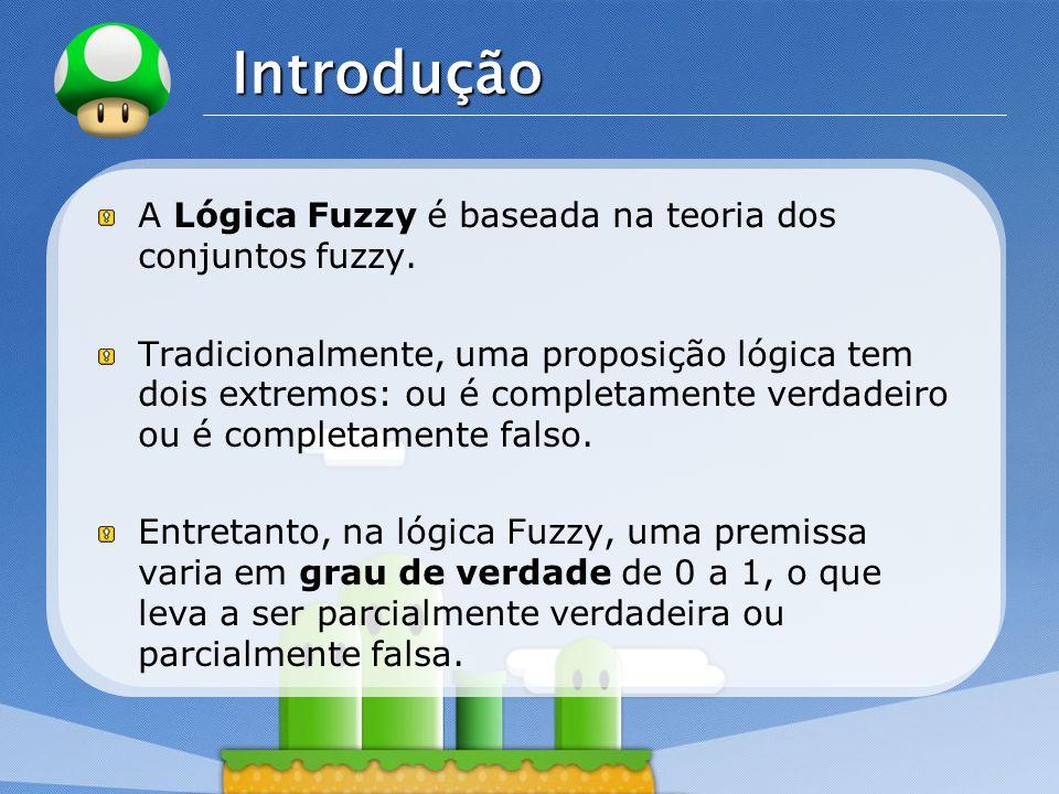 Introdução A Lógica Fuzzy é baseada na teoria dos conjuntos fuzzy.