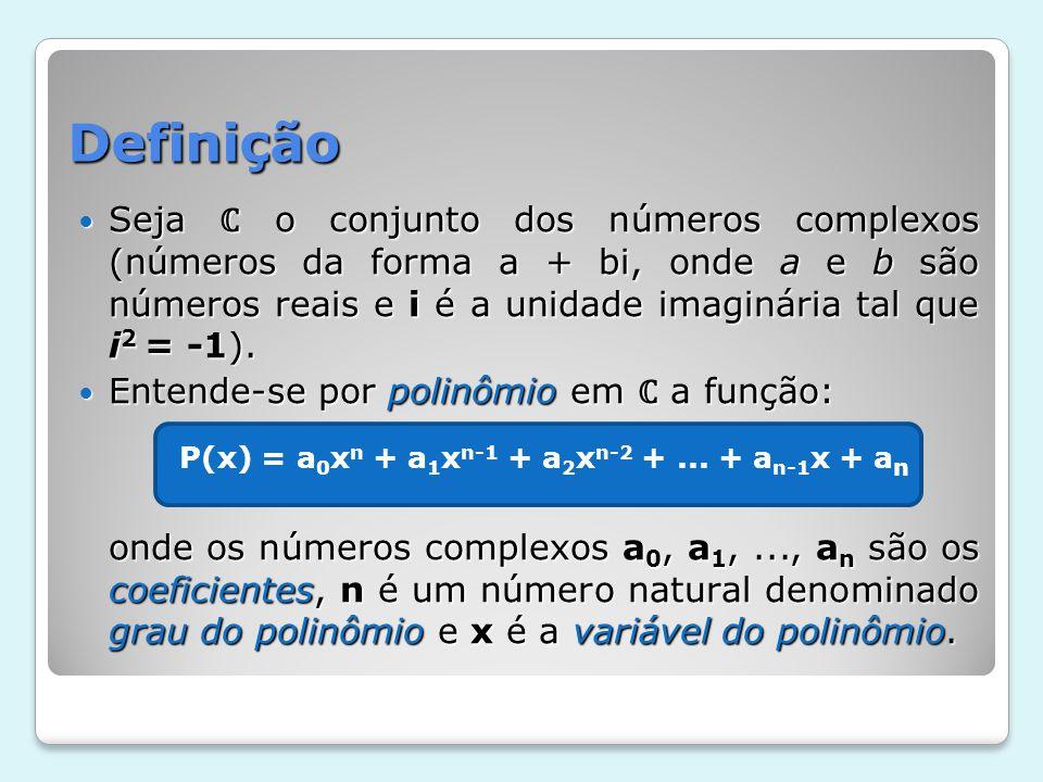 P(x) = a0xn + a1xn-1 + a2xn-2 + ... + an-1x + an