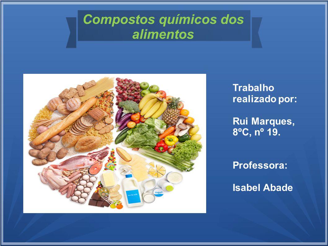 Compostos químicos dos alimentos