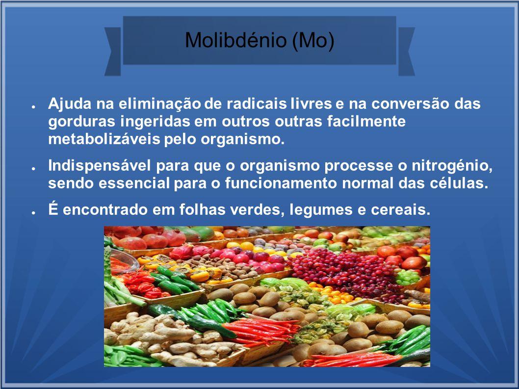 Molibdénio (Mo)