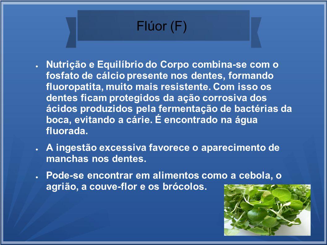Flúor (F)