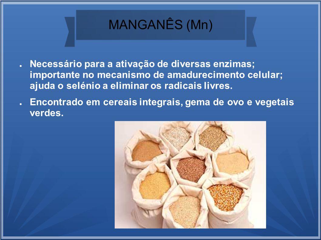 MANGANÊS (Mn)