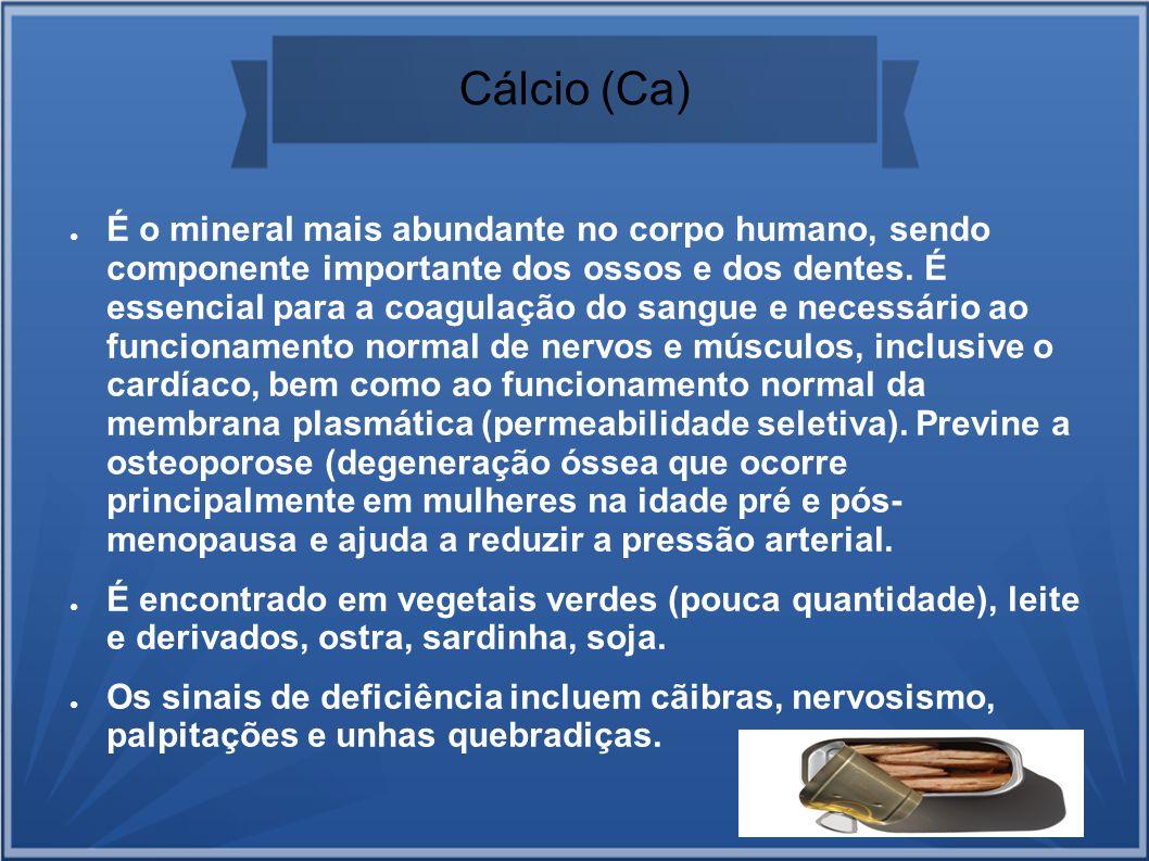 Cálcio (Ca)