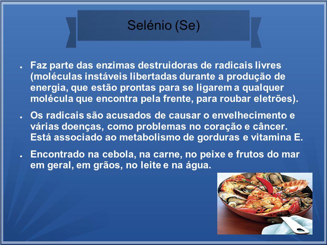 Selénio (Se)