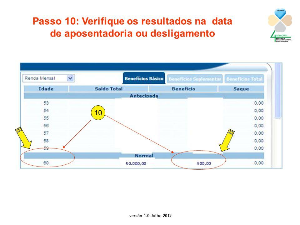 Passo 10: Verifique os resultados na data
