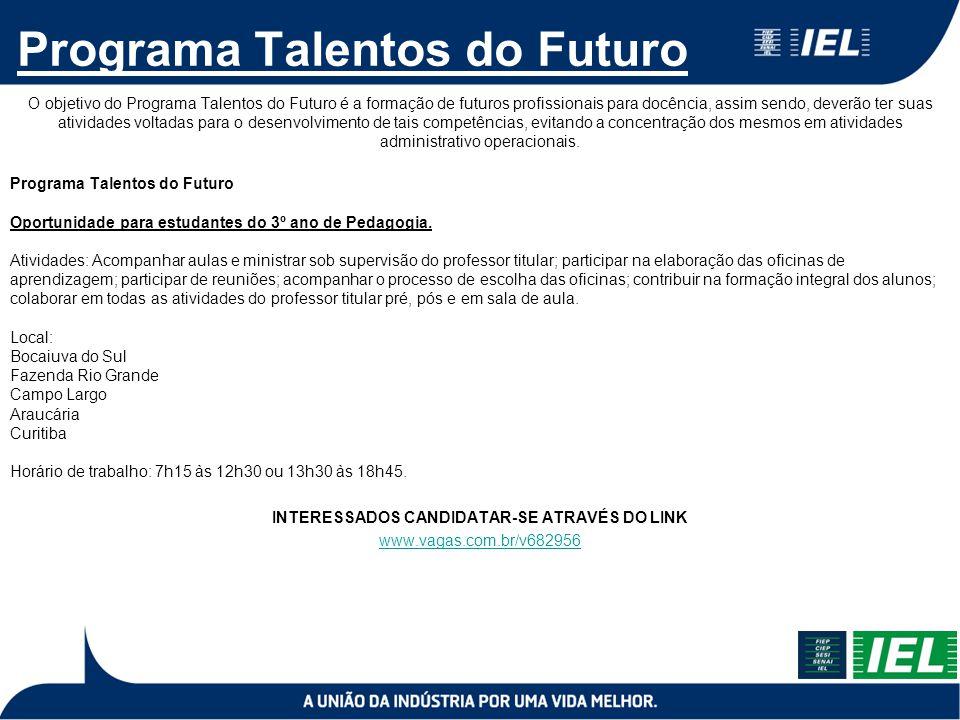 Programa Talentos do Futuro