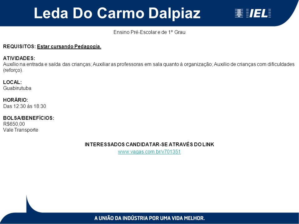Leda Do Carmo Dalpiaz