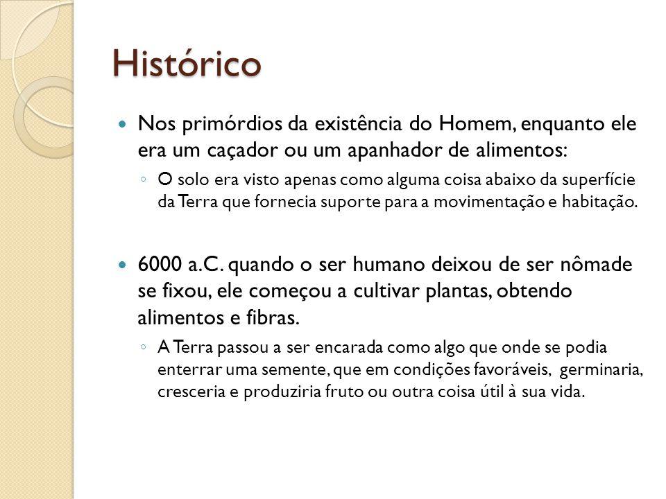 Histórico Nos primórdios da existência do Homem, enquanto ele era um caçador ou um apanhador de alimentos:
