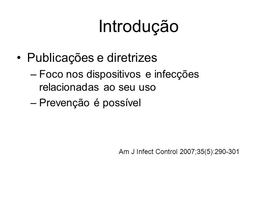 Introdução Publicações e diretrizes