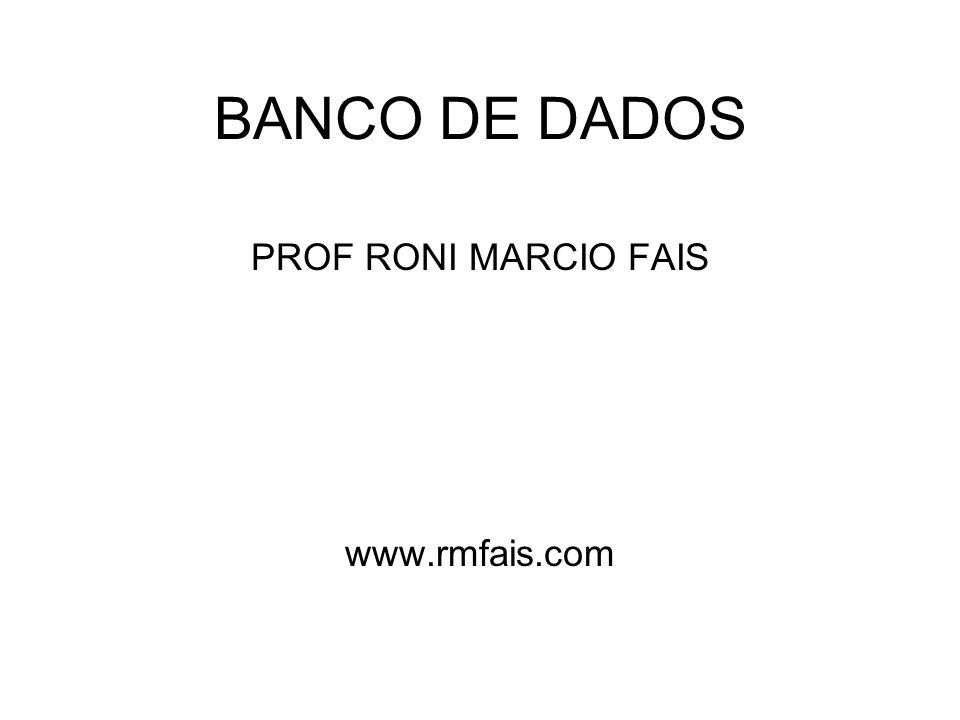 PROF RONI MARCIO FAIS www.rmfais.com