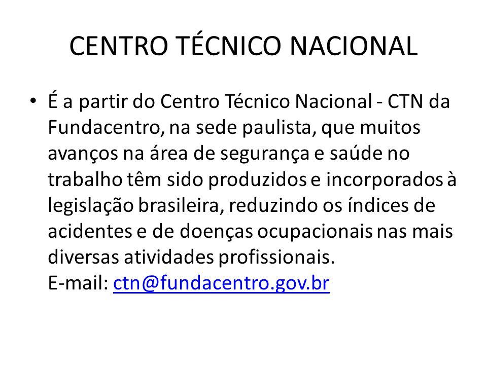 CENTRO TÉCNICO NACIONAL