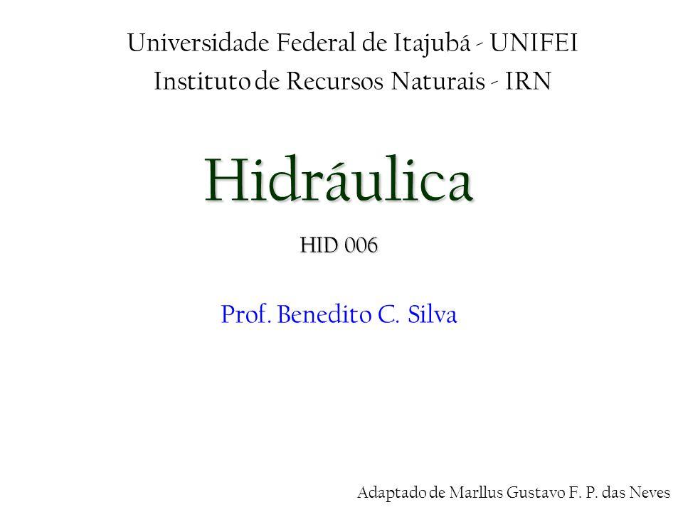 Hidráulica Universidade Federal de Itajubá - UNIFEI