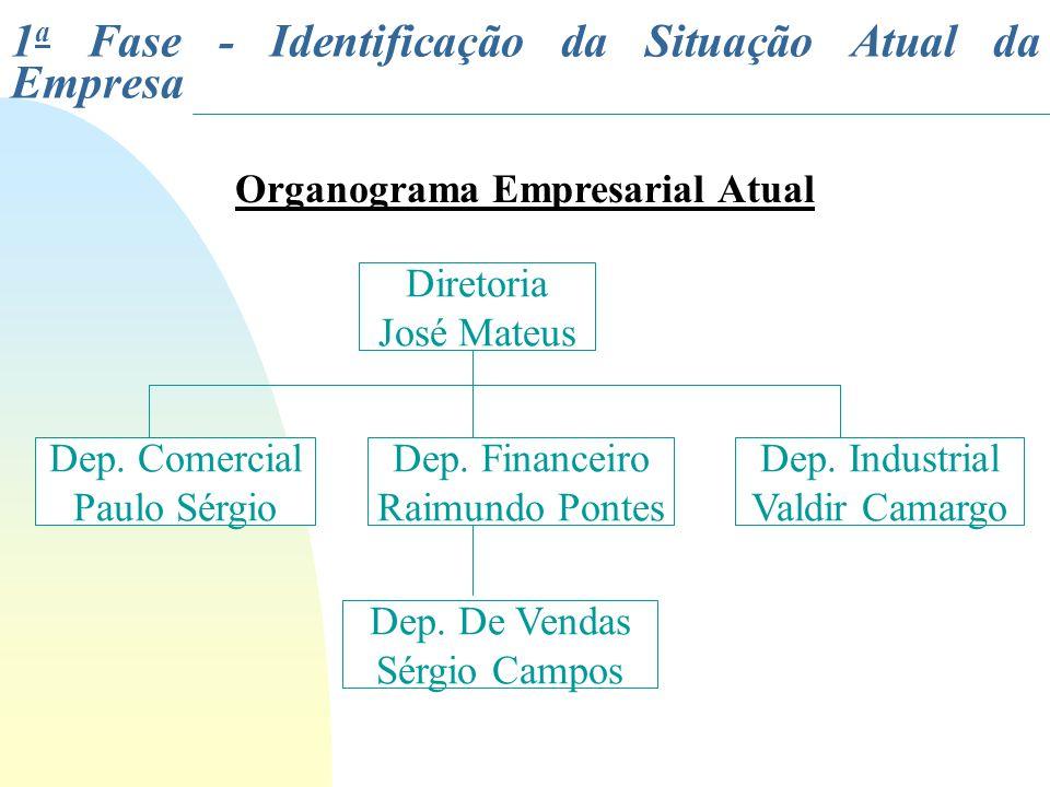 Organograma Empresarial Atual