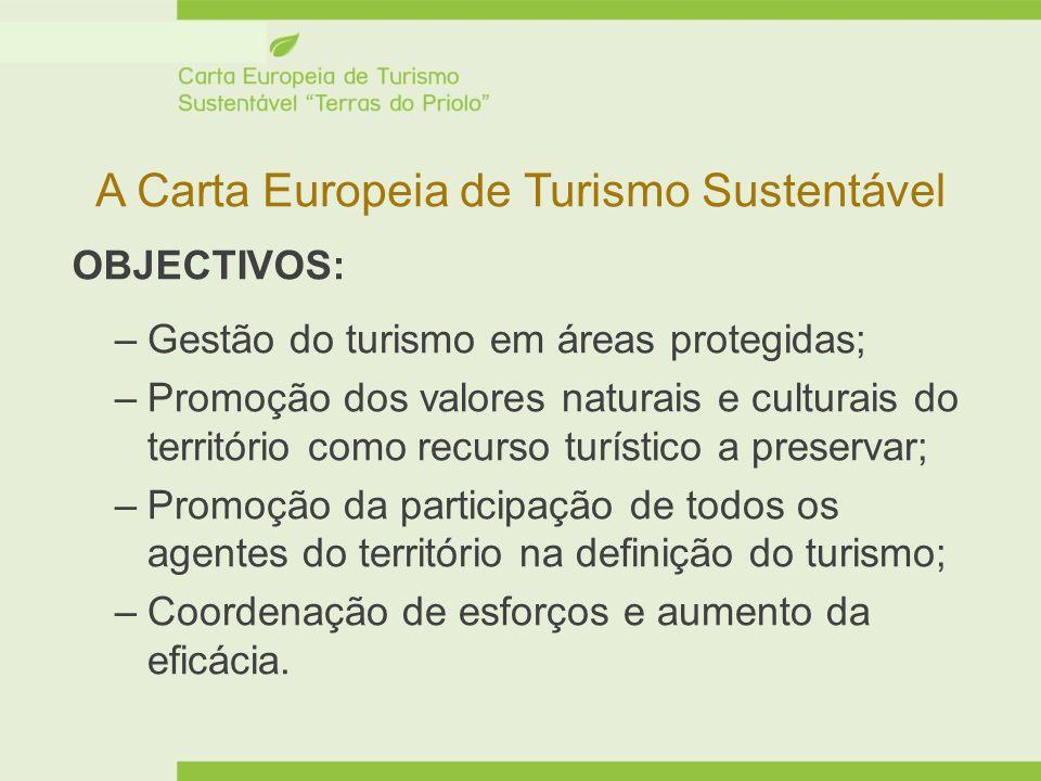 A Carta Europeia de Turismo Sustentável