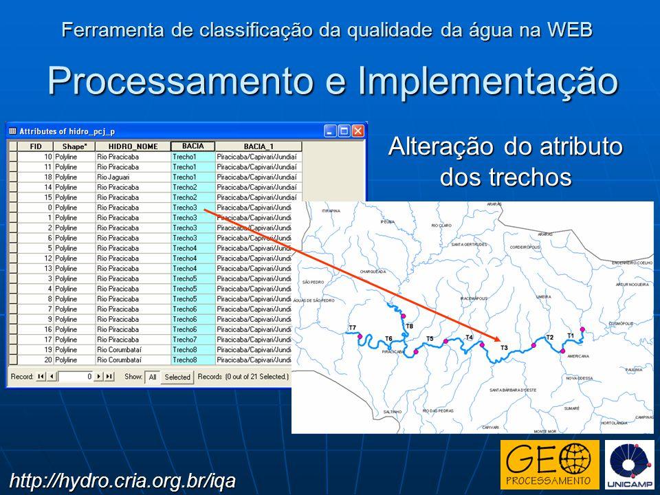 Processamento e Implementação