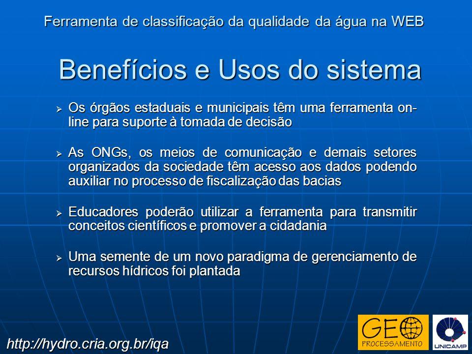 Benefícios e Usos do sistema