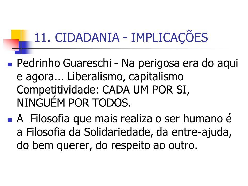 11. CIDADANIA - IMPLICAÇÕES