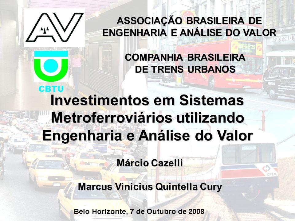 ASSOCIAÇÃO BRASILEIRA DE ENGENHARIA E ANÁLISE DO VALOR
