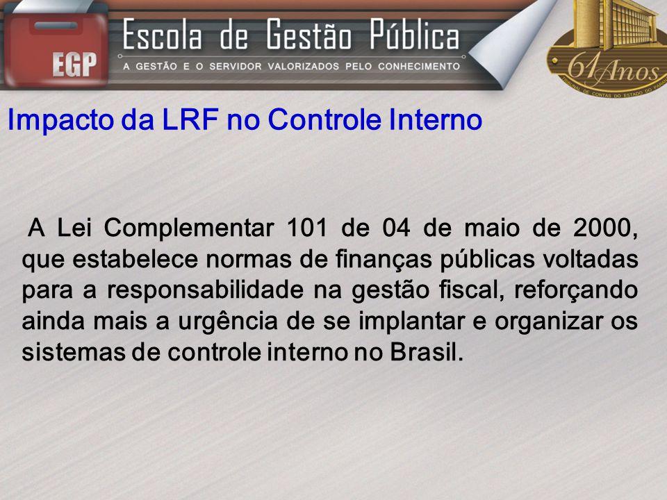 Impacto da LRF no Controle Interno