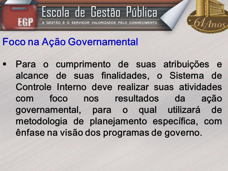 Foco na Ação Governamental