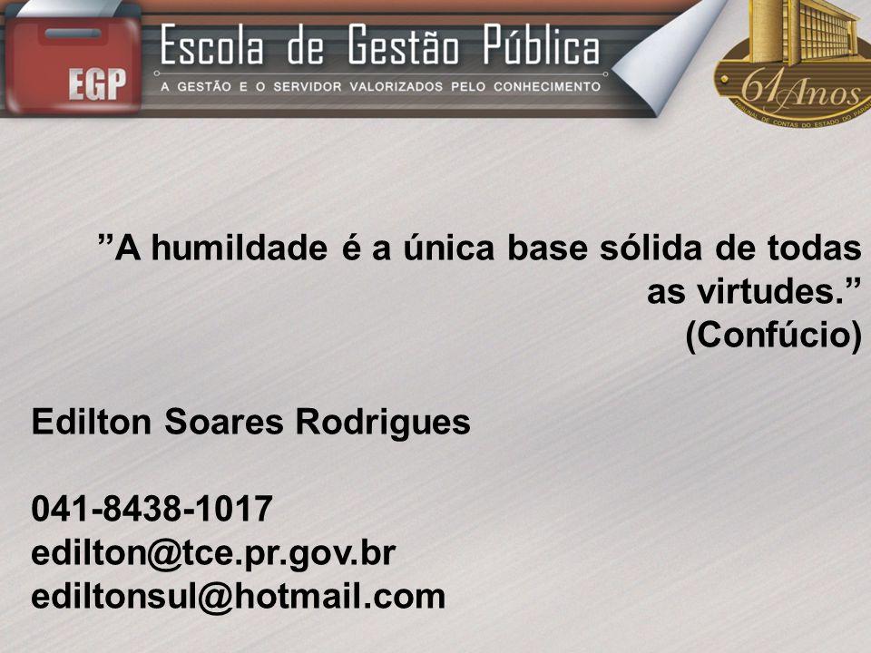 Edilton Soares Rodrigues 041-8438-1017 edilton@tce.pr.gov.br