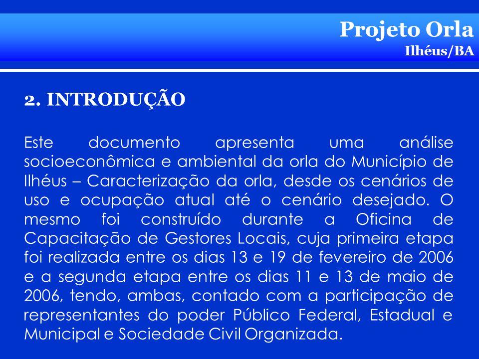 Projeto Orla 2. INTRODUÇÃO