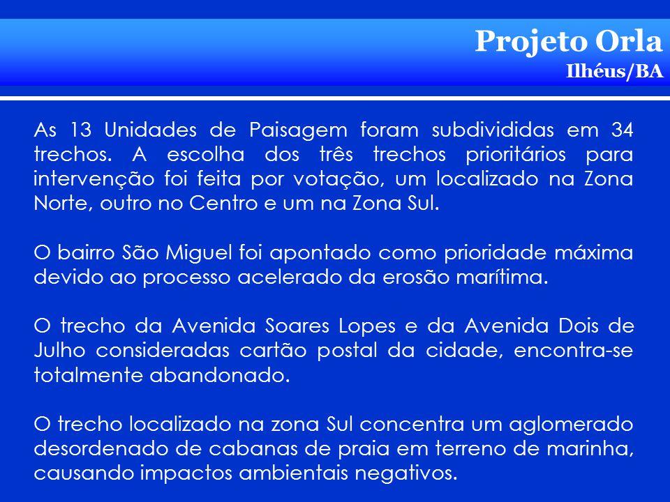 Projeto Orla Ilhéus/BA.