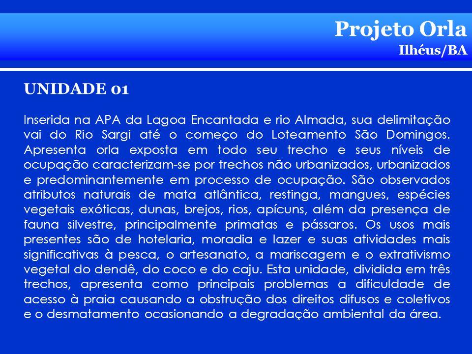 Projeto Orla UNIDADE 01 Ilhéus/BA
