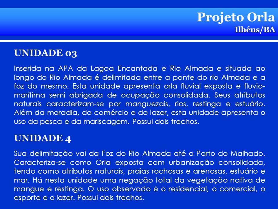 Projeto Orla UNIDADE 03 UNIDADE 4 Ilhéus/BA