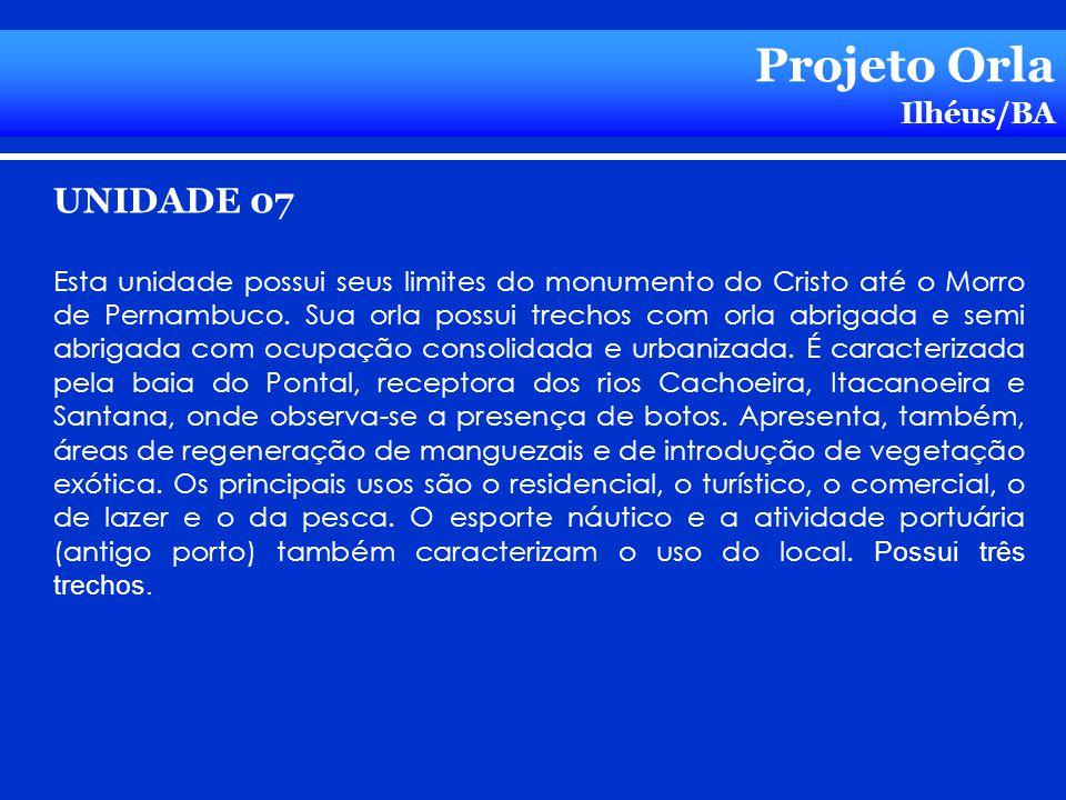 Projeto Orla UNIDADE 07 Ilhéus/BA