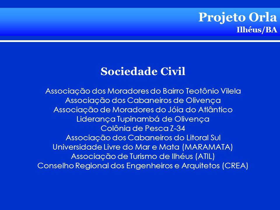 Projeto Orla Sociedade Civil Ilhéus/BA