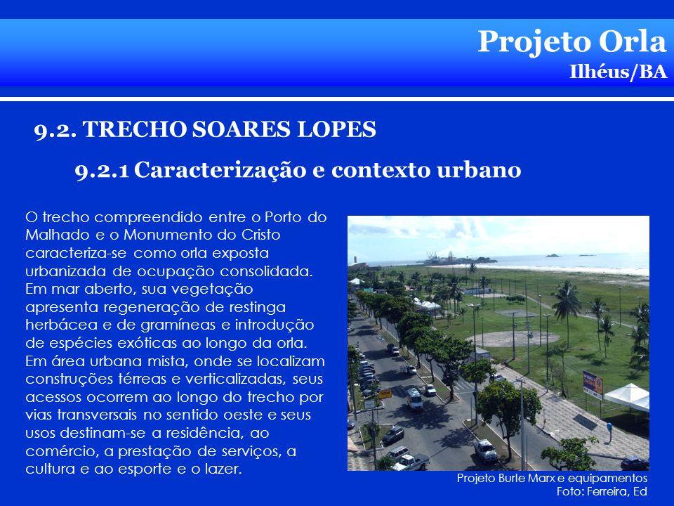 Projeto Orla 9.2. TRECHO SOARES LOPES