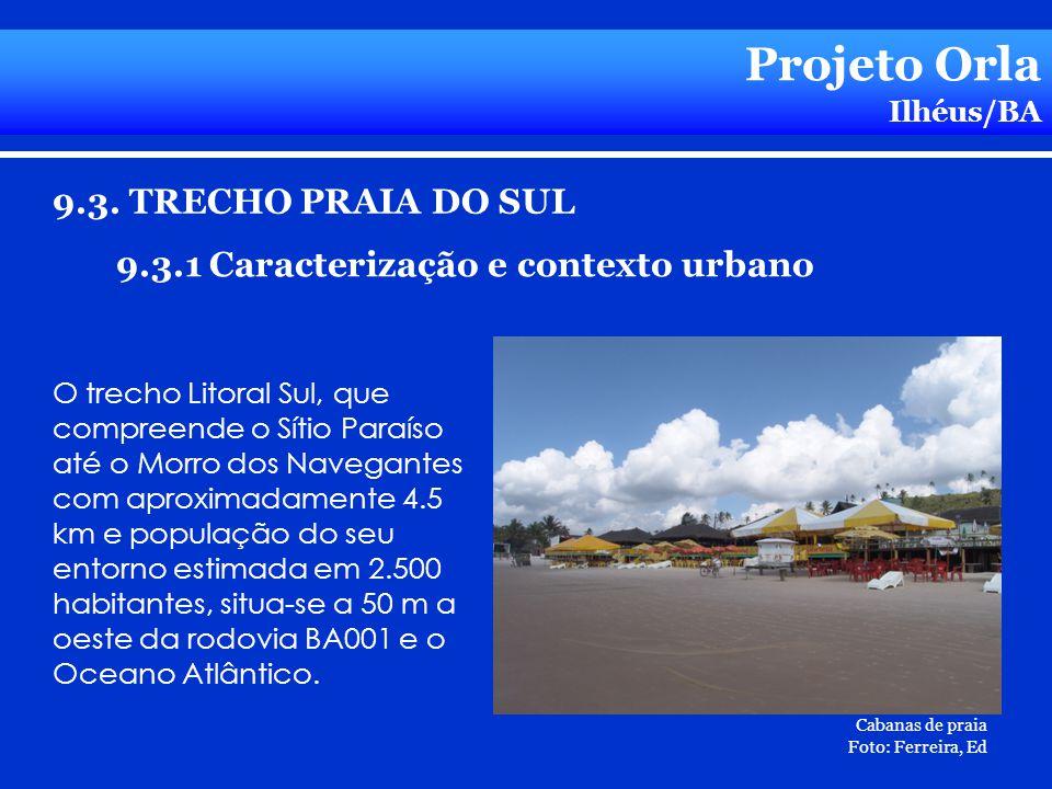 Projeto Orla 9.3. TRECHO PRAIA DO SUL