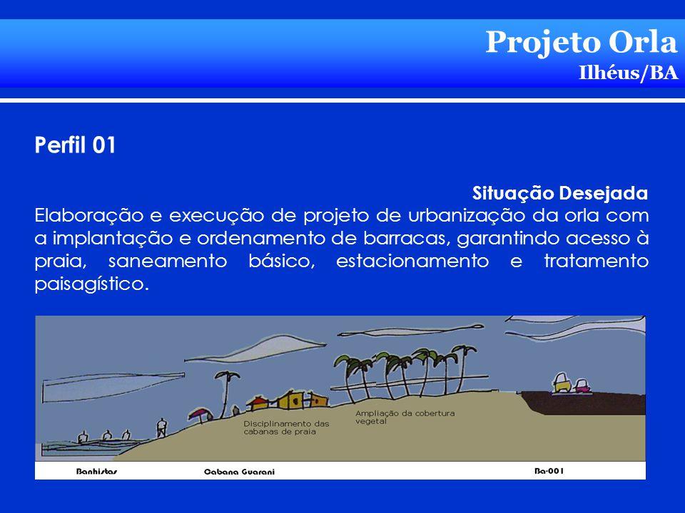 Projeto Orla Perfil 01 Ilhéus/BA Situação Desejada
