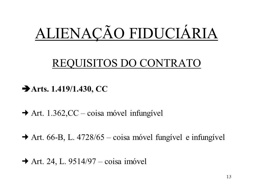 REQUISITOS DO CONTRATO