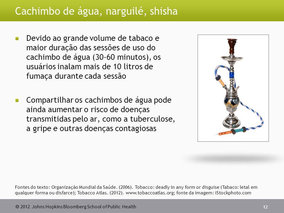 Cachimbo de água, narguilé, shisha