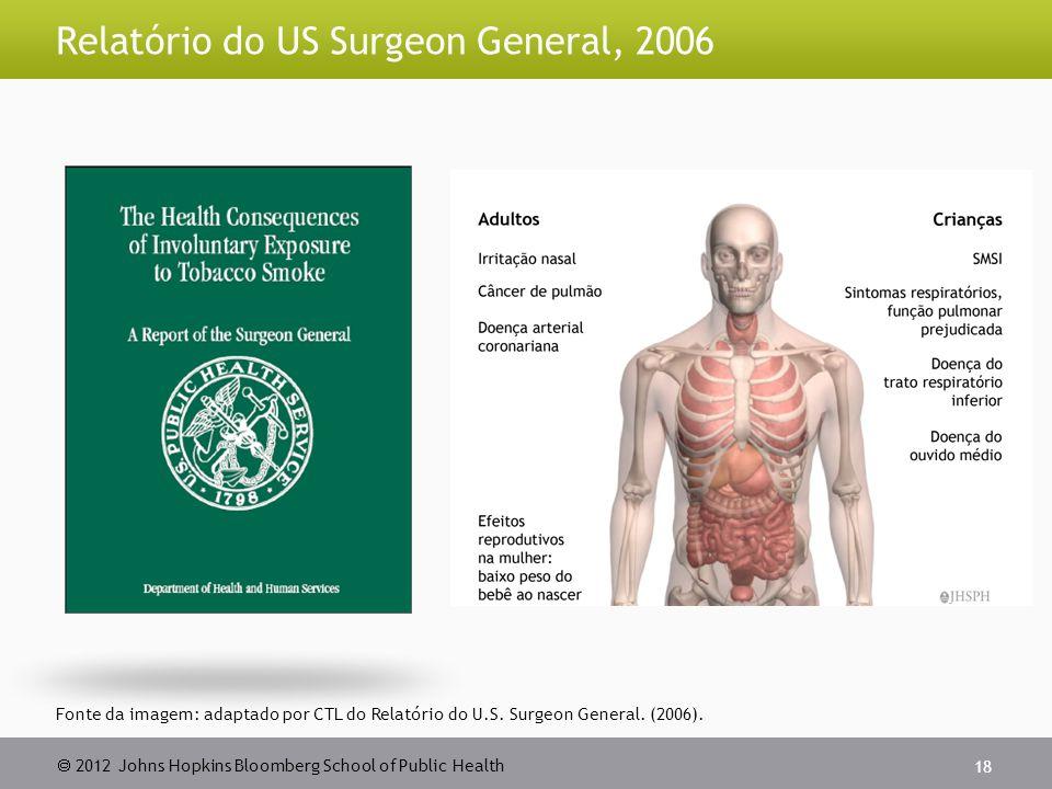 Relatório do US Surgeon General, 2006