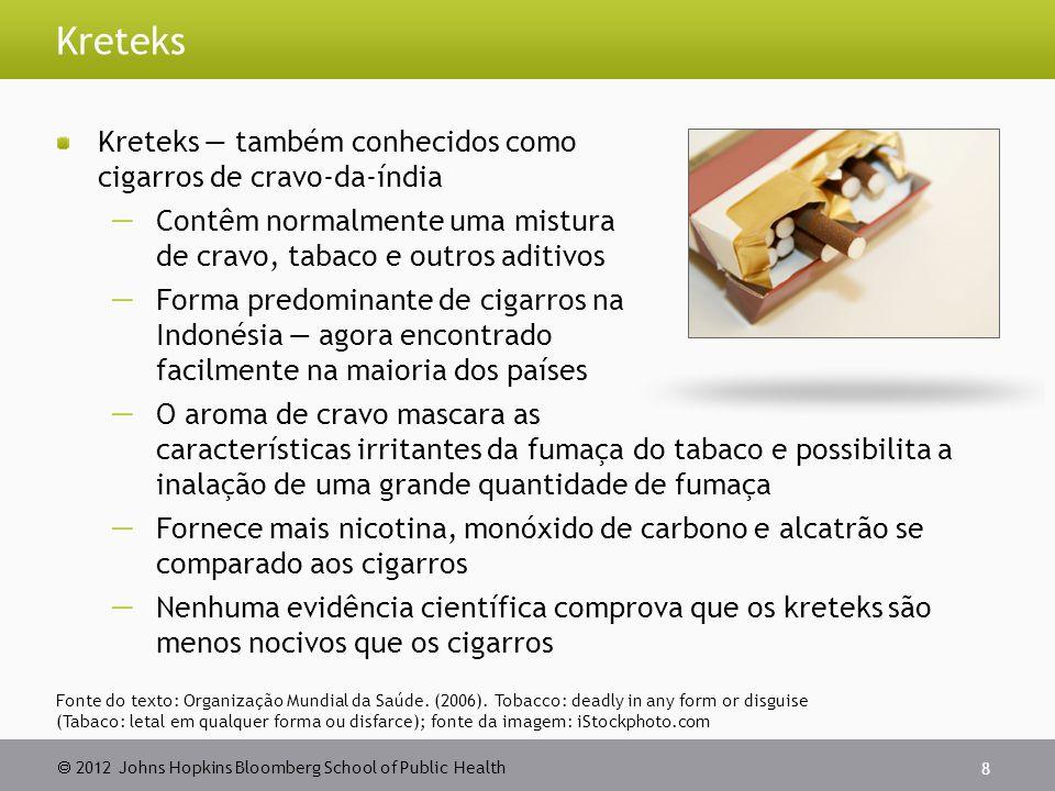 Kreteks Kreteks — também conhecidos como cigarros de cravo-da-índia