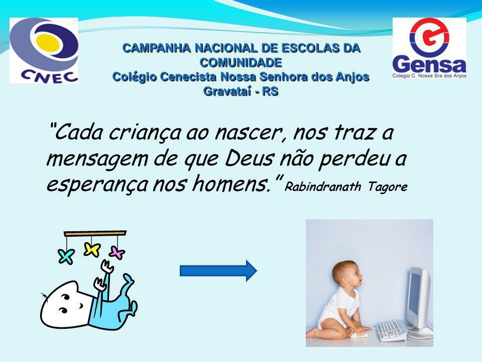 CAMPANHA NACIONAL DE ESCOLAS DA COMUNIDADE
