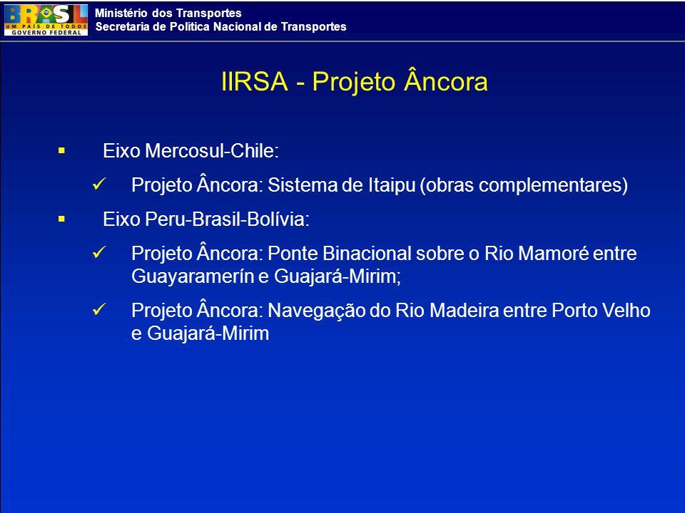 IIRSA - Projeto Âncora Eixo Mercosul-Chile: