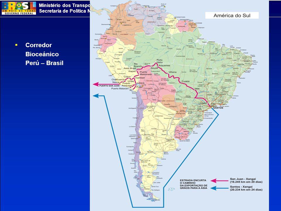 Corredor Bioceánico Perú – Brasil